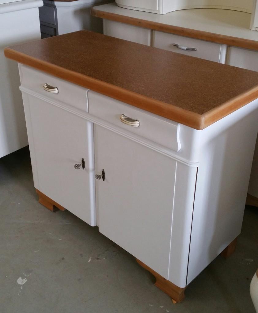 Küchenbuffet, alter Küchenschrank, Buffet, Anrichte
