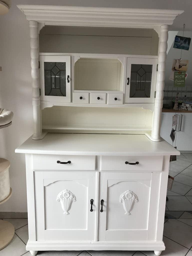 alter Küchenschrank, Küchenbuffet
