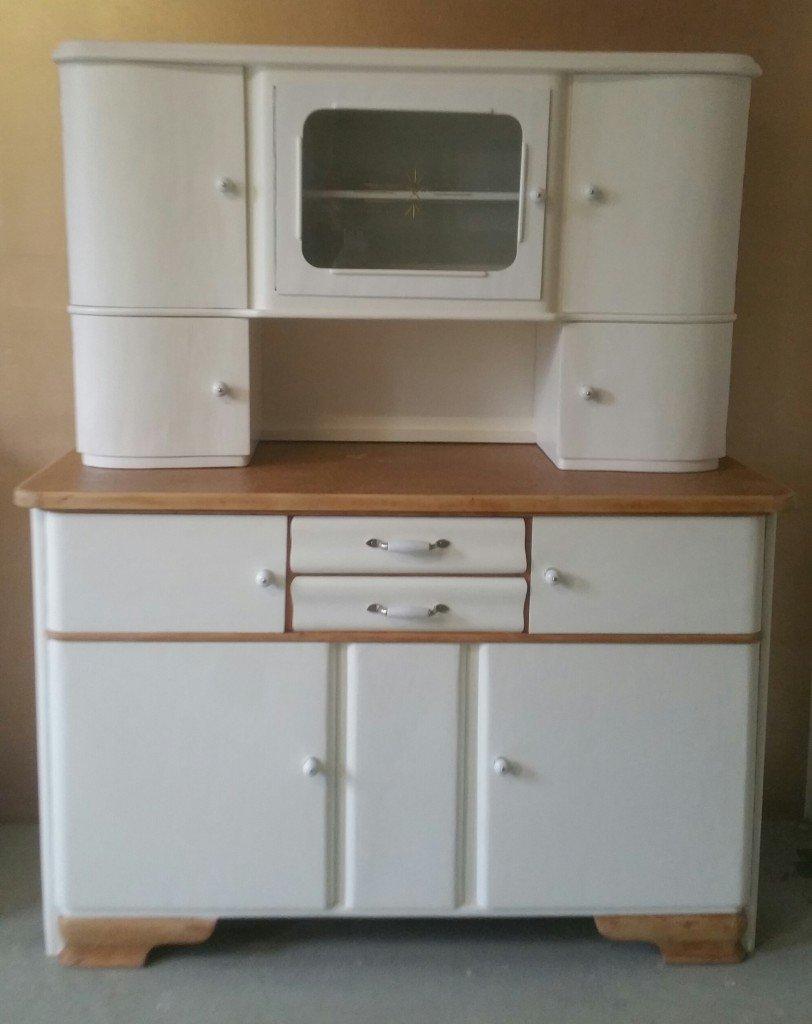 alter küchenschrank, küchenbuffet 50er jahre - garagenmoebel