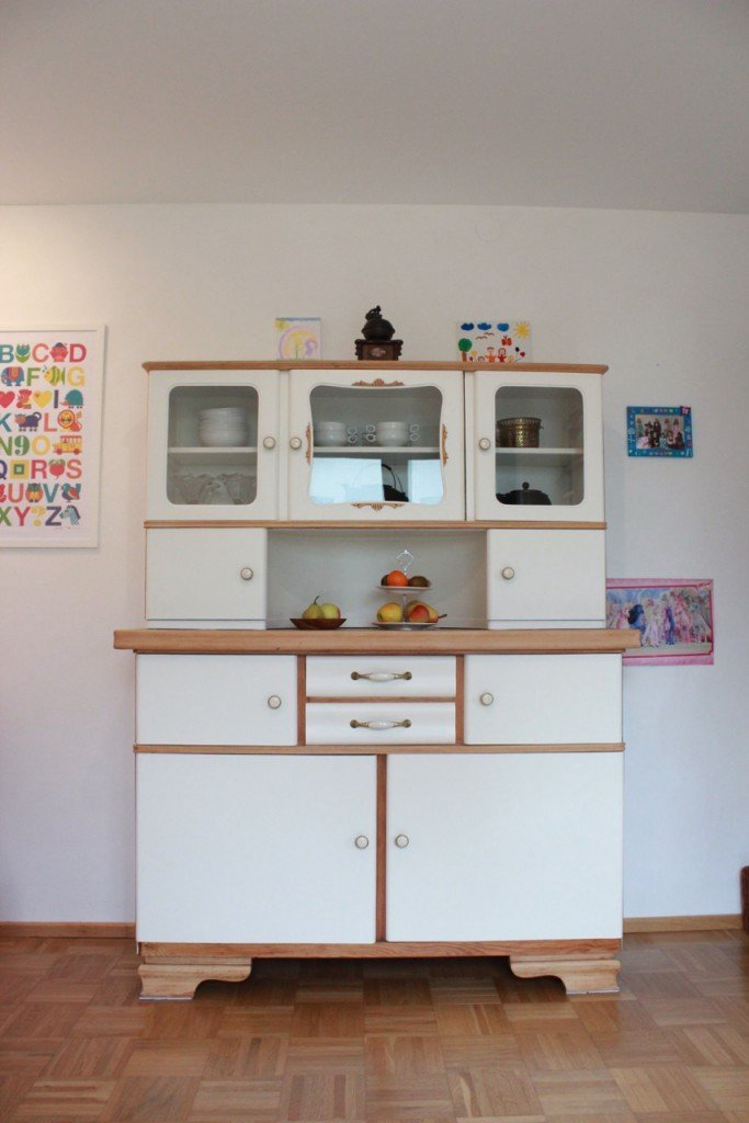 alter Küchenschrank, Küchenbuffet 50er - Garagenmoebel Küchenbuffet ...