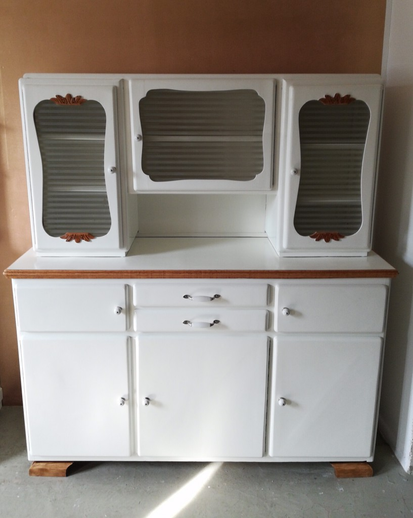 alter Küchenschrank, Küchenbuffet 50er Jahre - Garagenmoebel ...