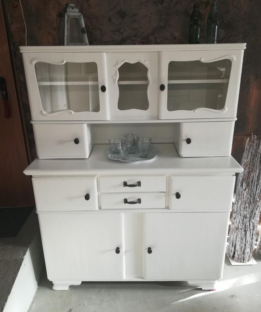alter 50er jahre küchenschrank, küchenbuffet - garagenmoebel