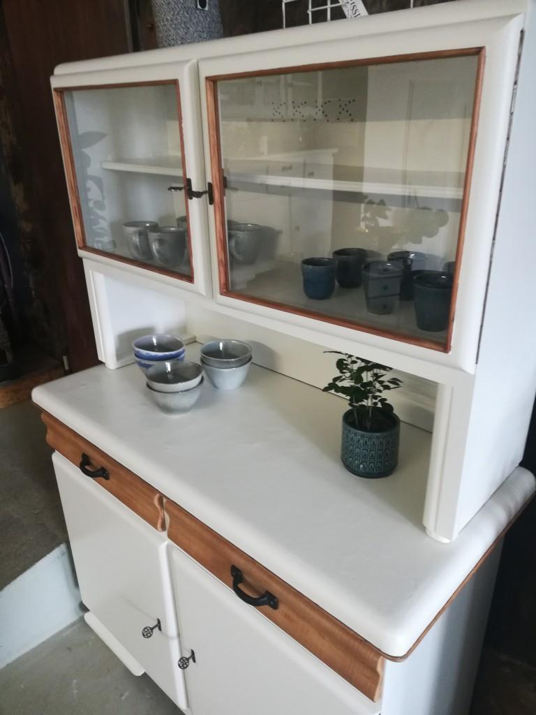 alter 50er Jahre Küchenschrank, Küchenbuffet - Garagenmoebel ...